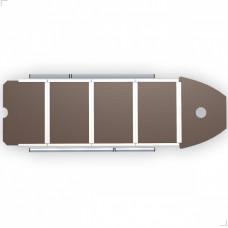 Жесткий пол для лодки FL390, фанера 12 мм