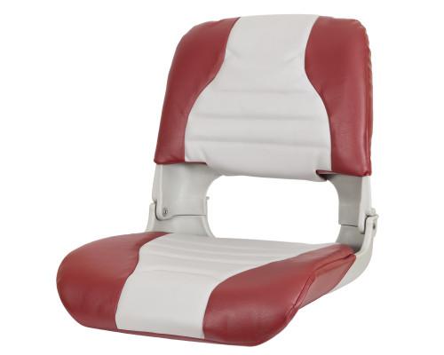 Кресло High Back всепогодные (GR - Серый/Красный)