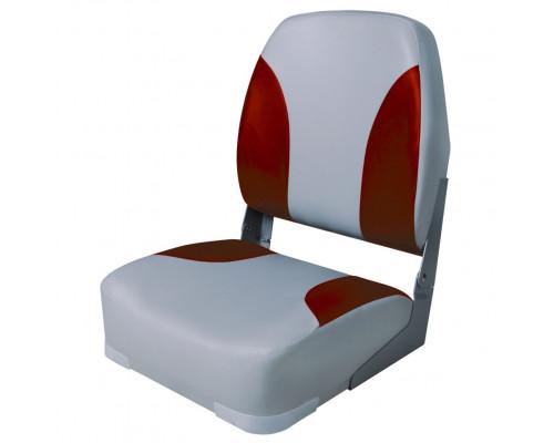 Кресло Classic High Back (GR - Серый/Красный)