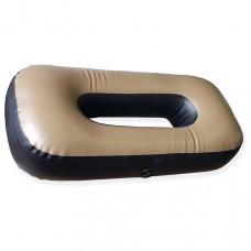 "Сиденье надувное ""овал"" №1 66х44х20 см (Олива)"