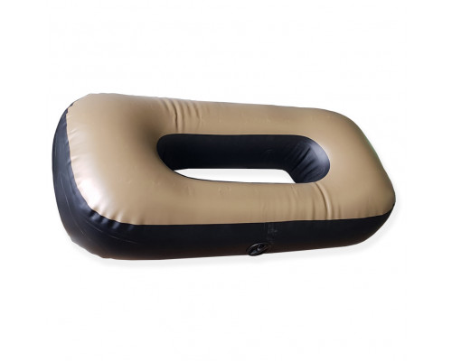 "Сиденье надувное ""овал"" №3 85х43х20 см (Олива)"