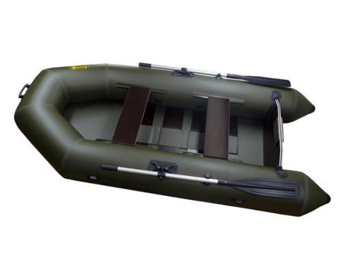 Инзер  моторная 260 см, Ø 35, с реечным полом, плоскодонная надувная лодка ПВХ