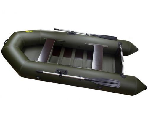 Инзер моторная 280 см, Ø 35, с реечным полом, плоскодонная надувная лодка ПВХ