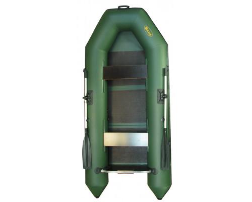 Инзер моторная 280 см, Ø 35, со сплошным полом, плоскодонная надувная лодка ПВХ