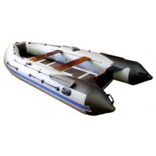 Адмирал 360 Sport килевая, с фанерным пайолом со стрингерами - моторная надувная лодка ПВХ