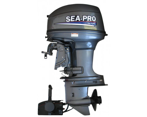 Sea-Pro T 40 S&E (дистанция)  2х-тактный лодочный мотор