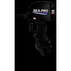 Sea-Pro T 40JS с водомётной насадкой (румпельный)  2х-тактный лодочный мотор