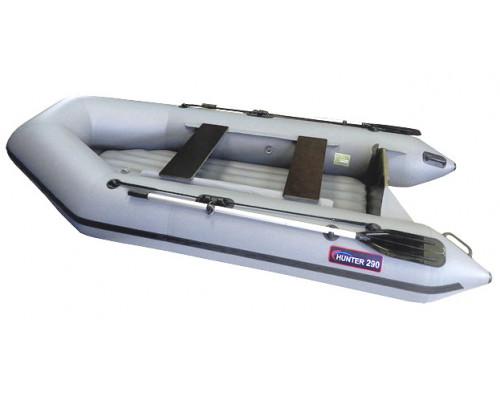 Хантер 290 ЛН с надувным дном низкого давления (НДНД) - моторная надувная лодка ПВХ