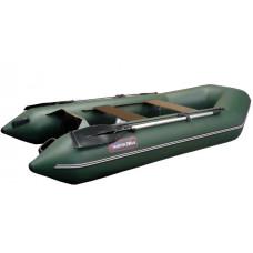 Хантер 290 ЛК килевая, со сплошным фанерным полом со стрингерами - моторная надувная лодка ПВХ