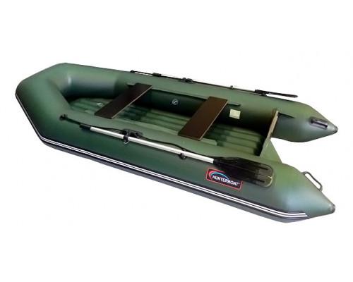 Хантер 320 ЛН с надувным дном низкого давления (НДНД) - моторная надувная лодка ПВХ