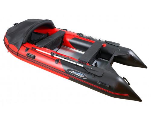 Гладиатор C370AL (Active) килевая с алюминиевым полом со стрингерами - моторная надувная лодка ПВХ