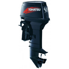 Tohatsu M50 EPOS с дистанционным управлением; впрыском масла - 2х-тактный лодочный мотор