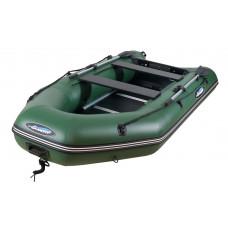 Гладиатор A280 ТК (Simple) килевая со сплошным фанерным полом со стрингерами - моторная надувная лодка ПВХ