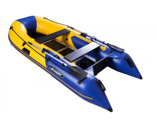 Гладиатор B270 (Light) килевая с фанерным пайолом со стрингерами - моторная лодка ПВХ
