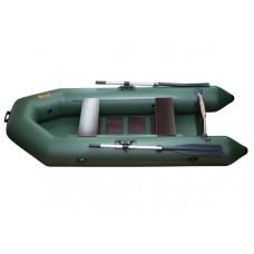 Инзер моторная 250 см, Ø 31, с реечным полом, плоскодонная надувная лодка ПВХ