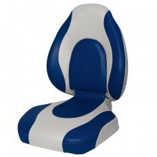 Кресло Premium Countured (GB - Серый/Синий)