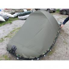 Тент 3Д на лодку Sport/Huntingline 360-390 (Хаки)