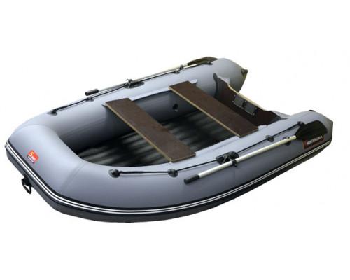 Хантер 290 А (НДНД) с умеренно-килеватым надувным дном низкого давления - моторная надувная лодка ПВХ