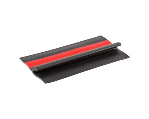 Лента PVC 80 мм на борт лодки (Черный/Красный)