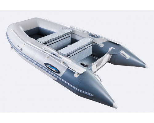 Гладиатор HD390AL (Heavy Duty) с алюминиевым полом, повышенной мореходности - моторная надувная лодка ПВХ
