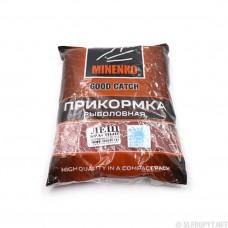 Прикормка Minenko Good Catch Зимняя лещ красный 700г 4402