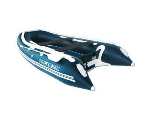 СОЛАР Максима-330 с надувным дном низкого давления (НДНД), килевая - моторная надувная лодка ПВХ
