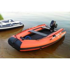 СОЛАР Максима-350 с надувным дном низкого давления (НДНД), килевая - моторная надувная лодка ПВХ
