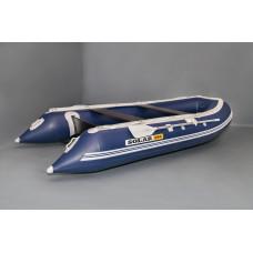 СОЛАР Максима-380К с надувным дном низкого давления (НДНД), килевая - моторная надувная лодка ПВХ