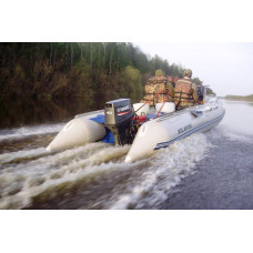 СОЛАР Максима-555К с надувным дном низкого давления (НДНД), килевая - моторная надувная лодка ПВХ