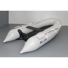 Solar SL-330 с надувным дном низкого давления (НДНД), килевая - моторная надувная лодка ПВХ