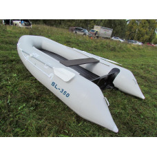 Solar SL-350 с надувным дном низкого давления (НДНД), килевая - моторная надувная лодка ПВХ