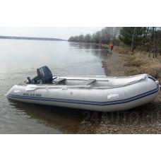 SOLAR-400 МК с надувным дном низкого давления (НДНД), малокилевая - моторная надувная лодка ПВХ