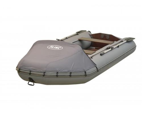 FLINC FT320L Люкс (с тентом) с фанерным полом-книжкой - моторная надувная лодка ПВХ