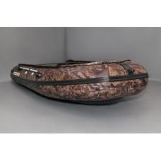 SOLAR-420 Jet камуфляж с водоводным тоннелем, надувным дном (НДНД) - моторная надувная лодка ПВХ