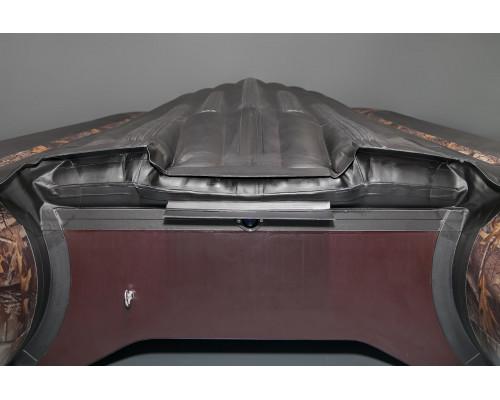 SOLAR-450 Jet камуфляж с водоводным тоннелем, надувным дном (НДНД) - моторная надувная лодка ПВХ