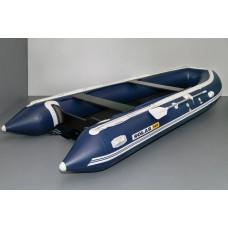 SOLAR-500 Jet с водоводным тоннелем, надувным дном (НДНД) - моторная надувная лодка ПВХ