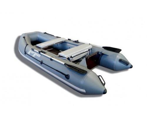 Riverboats RB-300 килевая, с фанерным пайолом со стрингерами - моторная надувная лодка ПВХ