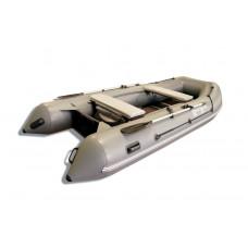 Riverboats RB-330 килевая, с фанерным пайолом со стрингерами - моторная надувная лодка ПВХ