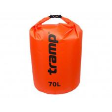 Гермомешок Tramp 70л TRA-209 (оранжевый)