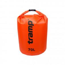 Гермомешок Tramp 70 л нейлон красный TRA-104