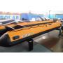 SOLAR-600 Jet с водоводным тоннелем, надувным дном (НДНД) - моторная надувная лодка ПВХ