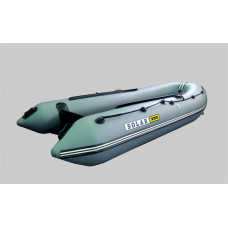 СОЛАР Оптима-350 с надувным дном низкого давления (НДНД), килевая - моторная надувная лодка ПВХ