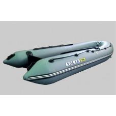 СОЛАР Оптима-380 с надувным дном низкого давления (НДНД), килевая - моторная надувная лодка ПВХ