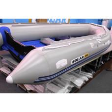 СОЛАР Оптима-330 с надувным дном низкого давления (НДНД), килевая - моторная надувная лодка ПВХ