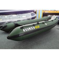 СОЛАР Оптима-310 с надувным дном низкого давления (НДНД), килевая - моторная надувная лодка ПВХ