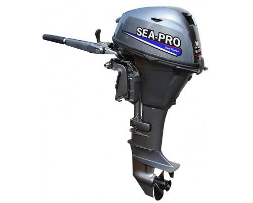 Sea-Pro F 15S&E (дистанция) - 4-х тактный лодочный мотор