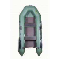 Инзер моторная 280 см, Ø 35, со сплошным полом, бронированное дно, плоскодонная надувная лодка ПВХ