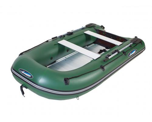 Гладиатор B300AL (Light) килевая с алюминиевым пайолом со стрингерами - моторная лодка ПВХ