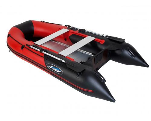 Гладиатор B330AL (Light) килевая с алюминиевым пайолом со стрингерами - моторная лодка ПВХ