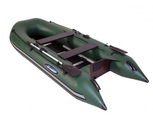 Гладиатор B370 (Light) килевая с фанерным пайолом со стрингерами - моторная лодка ПВХ
